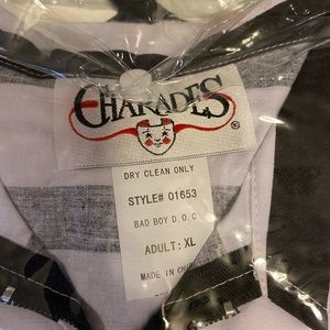 """charades Other - NWT Charades """"Bad Boy"""" Inmate Halloween Costume"""